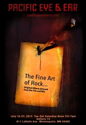 Pacific Eye & Ear, Fine Art of Rock