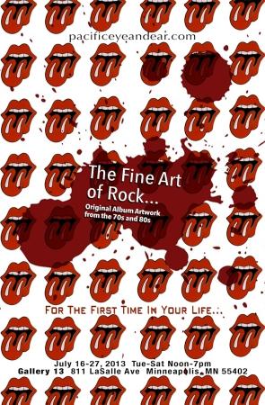 Pacific Eye & Ear; Fine Art of Rock