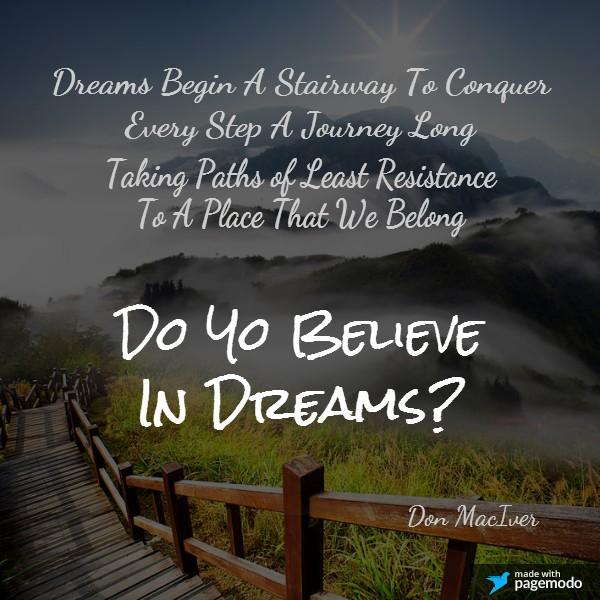 Inspirational Poetry, Dreams