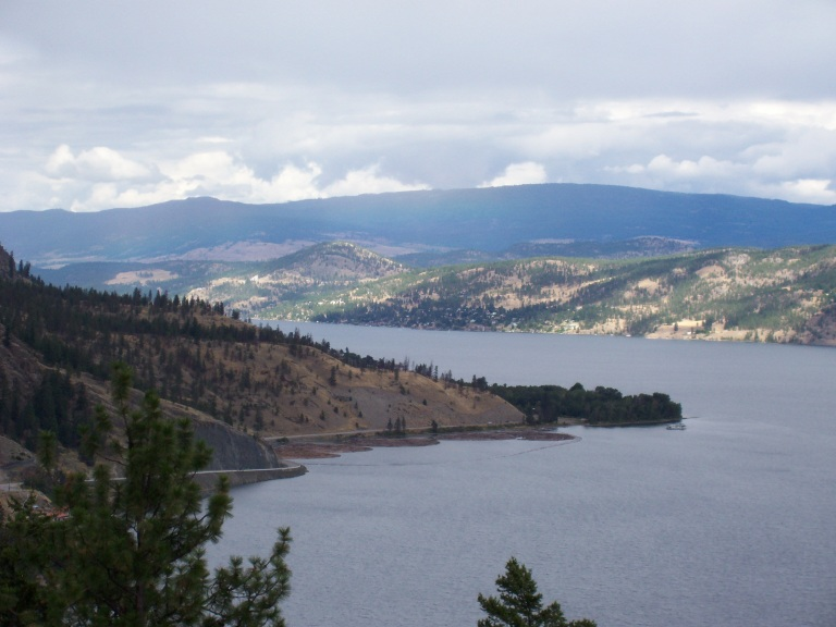 Okanagan Lake, Kelowna, British Columbia, Canada
